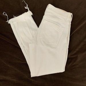 Express Jeans - White Express Crop Legging